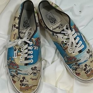 Tropical Mickey Mouse Vans